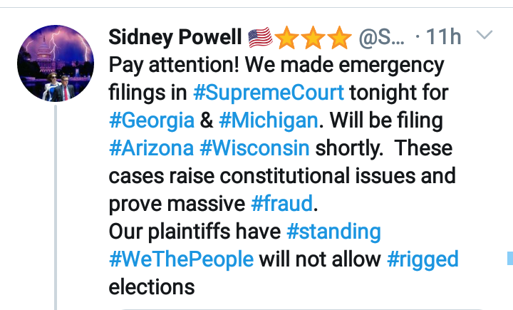 Sidney Powell Files Four More Supreme Court Suits Screenshot_2020-12-12-08-56-22-11754799507